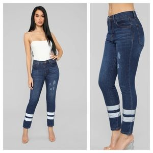 High Rise Jeans by FashionNova are NWT. Size 9